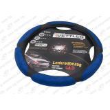 Оплётка руля Г-3302 винил (голубой)  XL 41-42 см (6 подушек)