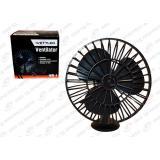 Вентилятор (салонный) 12В на присоске d-10 см