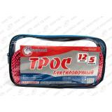 Трос буксировочный (12т x 5м.2 крюка)  Полярник  в сумке